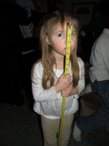 Rebecca, Measuring Up