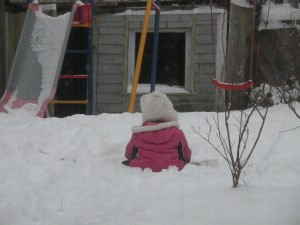 If a child is alone in the back yard, with no one to hear, will they throw a fit?