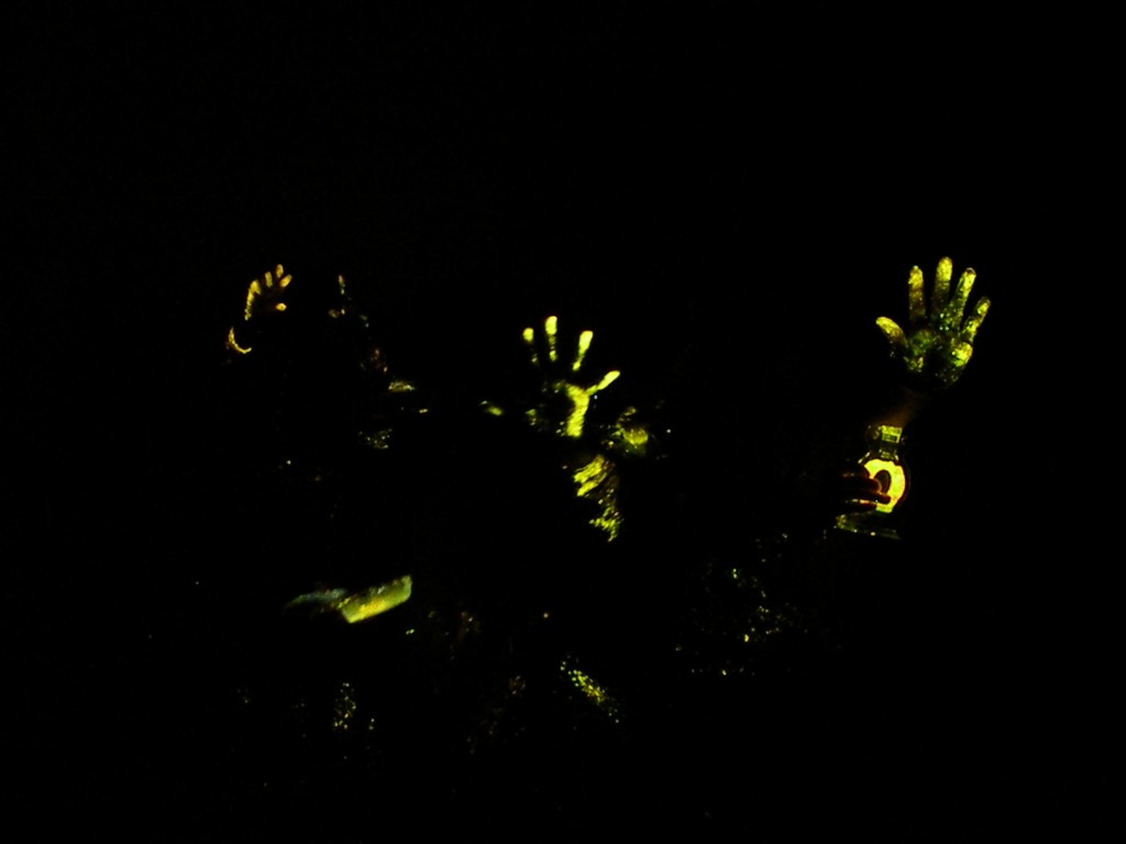 Glowing Hands
